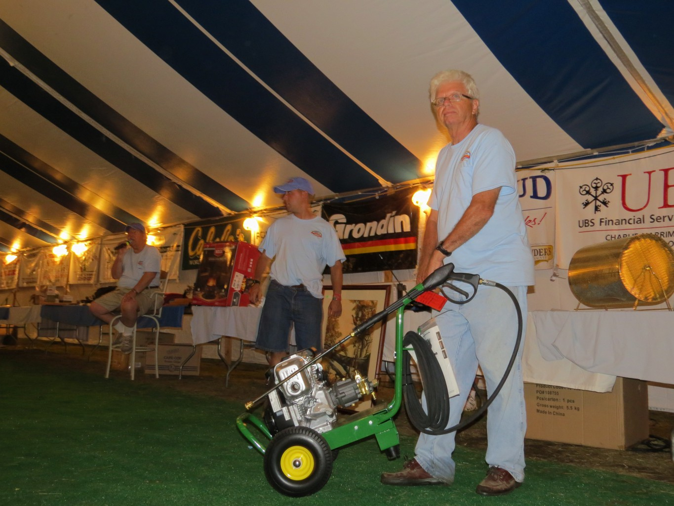 You Never Know What You'll Find At The Annual SITT Charity Auction!