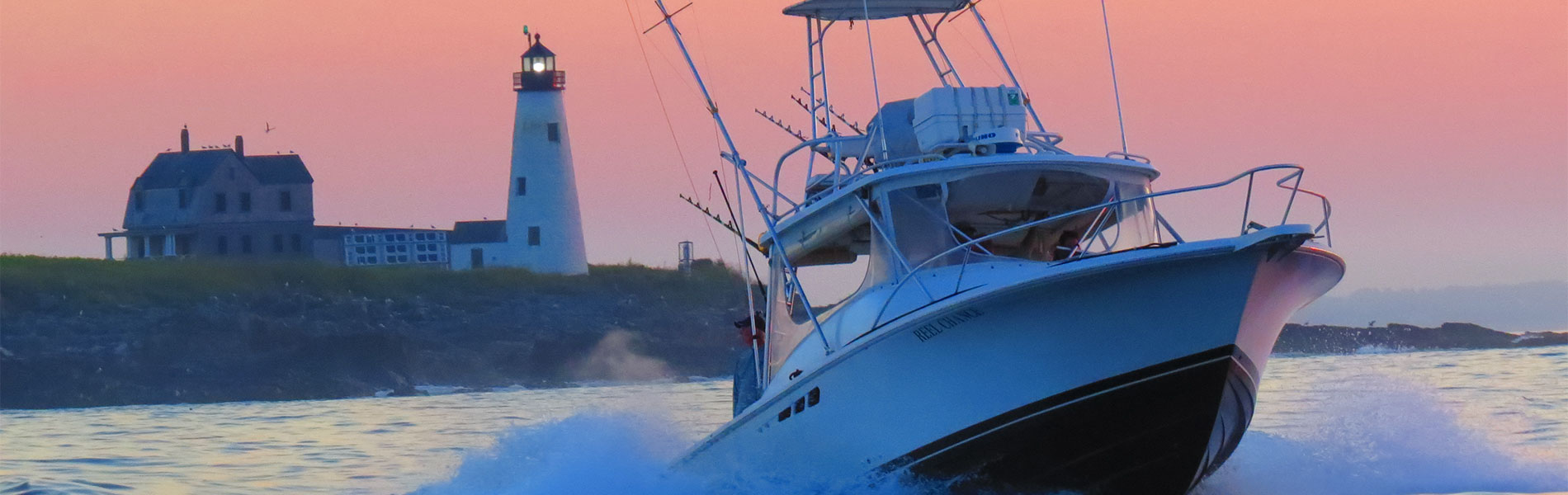 F/V Reel Chance heading to the grounds. Photo by Jim Hinkley