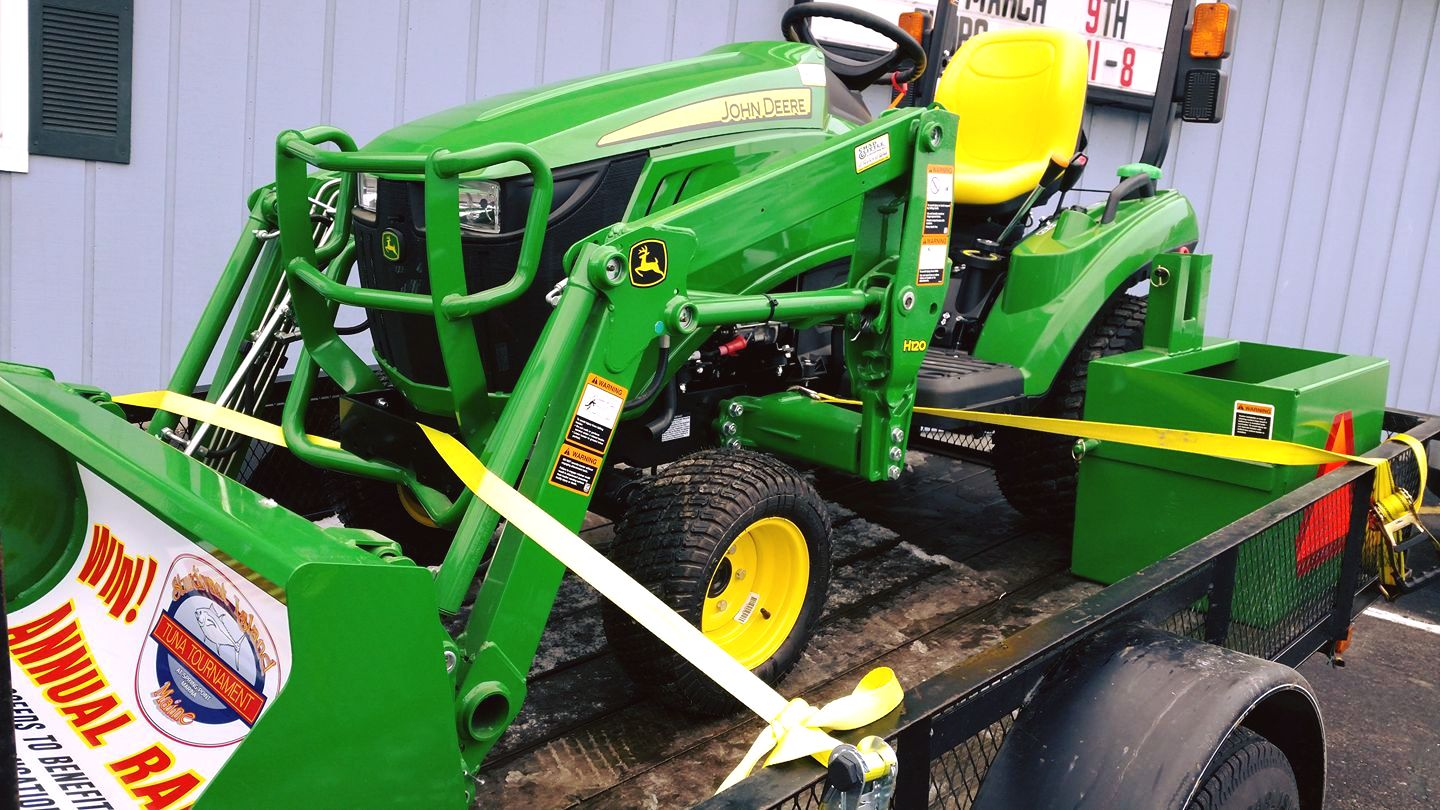 You Could Win This 023E John Deere Tractor