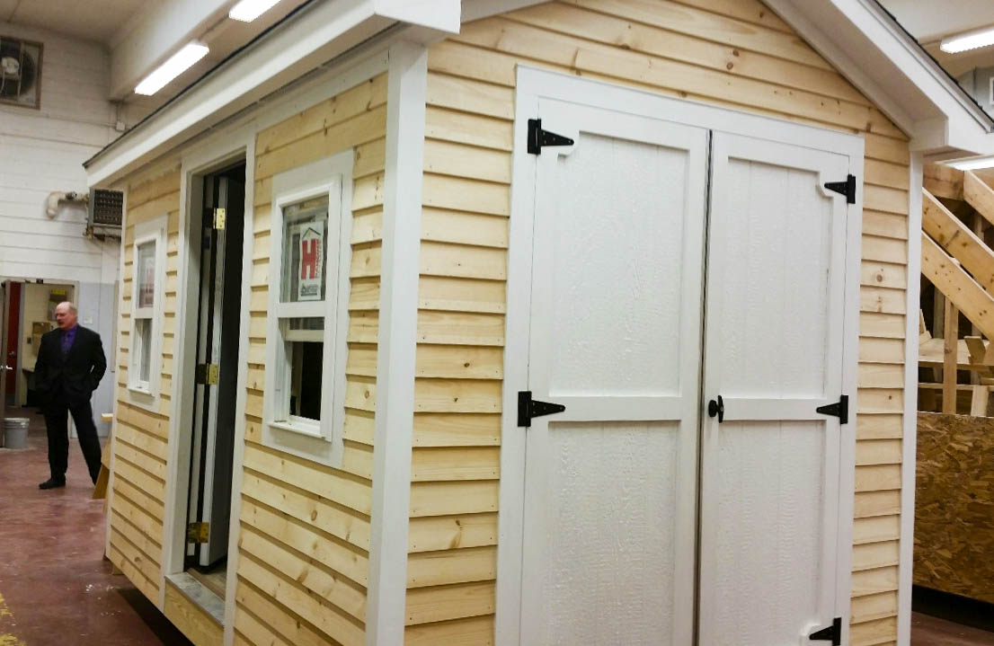 Awesome Shed Built By Students At CMCC For Our Charity Action